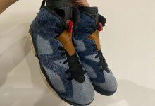 "Air Jordan 6 丹宁材质""Washed Denim"" 货号:CT5350-401  发售日期:2019年12月28日"