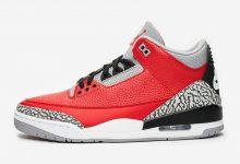 给大家详细介绍一下Air Jordan 3 SE'Red Cement' 货号:CK5692-600