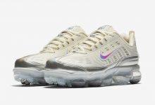这款Nike Air VaporMax 360奶油色和银色混搭,非常有特色 货号:CK2719-200