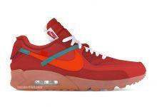 Off-White x Nike Air Max 90'University Red'将于2020年夏季发布 货号:AA7293-600