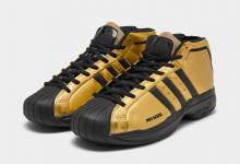 adidas Pro Model 2G以金色和黑色突出个性 货号:FV8922