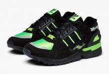 黑色和荧光绿色adidas ZX 10000C 货号:EG8964
