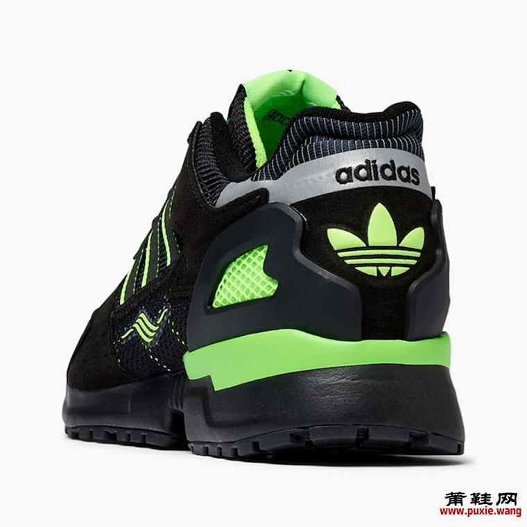 adidas ZX 10000C黑色Solar Green EG8964发售日期信息