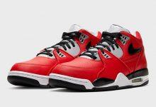 "Nike Air Flight 89'Red Cement'现已上市 空中航班89""红色水泥""现已上市 货号:CN5668-600"