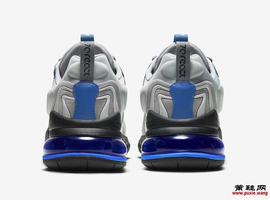 Nike Air Max 270 React ENG银蓝色CJ0579-001发售日期