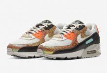 Nike Air Max 90配以金色彩虹蛇皮 货号:CW2656-001