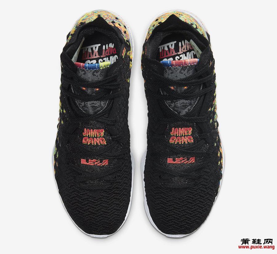 Nike LeBron 17 James Gang BQ3177-005发售日期