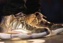 Air Jordan 11 OVO'Metallic Gold'样品的详细介绍