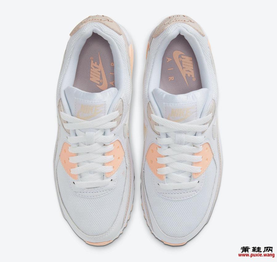 Nike Air Max 90 Barely Rose CT1030-101发售日期
