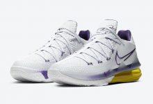 Nike LeBron 17 Low'Lakers Home'官方图片 货号:CD5007-102