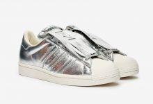 adidas Superstar流苏蕾丝设计 两种配 曝光货号:FW8159/FW8154