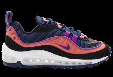 "Nike Air Max 98 GS ""Blue Ember""开始发售 货号:BV4872-401"