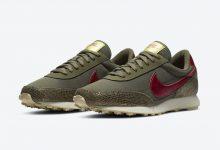 Nike Snakeskin 华夫系列 蛇纹橄榄色发布 货号 :CZ0464-200