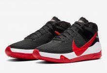 耐克杜兰特13代篮球鞋 黑红配色  Nike KD 13'Bred'发售日期 货号:CI9948-002