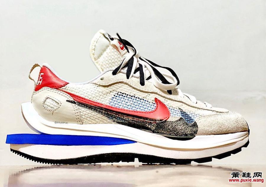 sacai Nike VaporWaffle Game Royal Sport紫红色发布日期信息