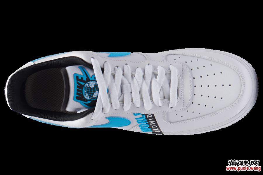 Nike Air Force 1 Worldwide白色蓝色黑色CK6924-100发售日期信息