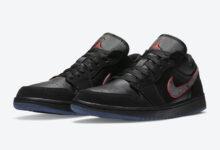 """乔丹1代低帮 Air Jordan 1 Low Black """" Red Orbit""""红色轨道 货号:CK3022-006"""