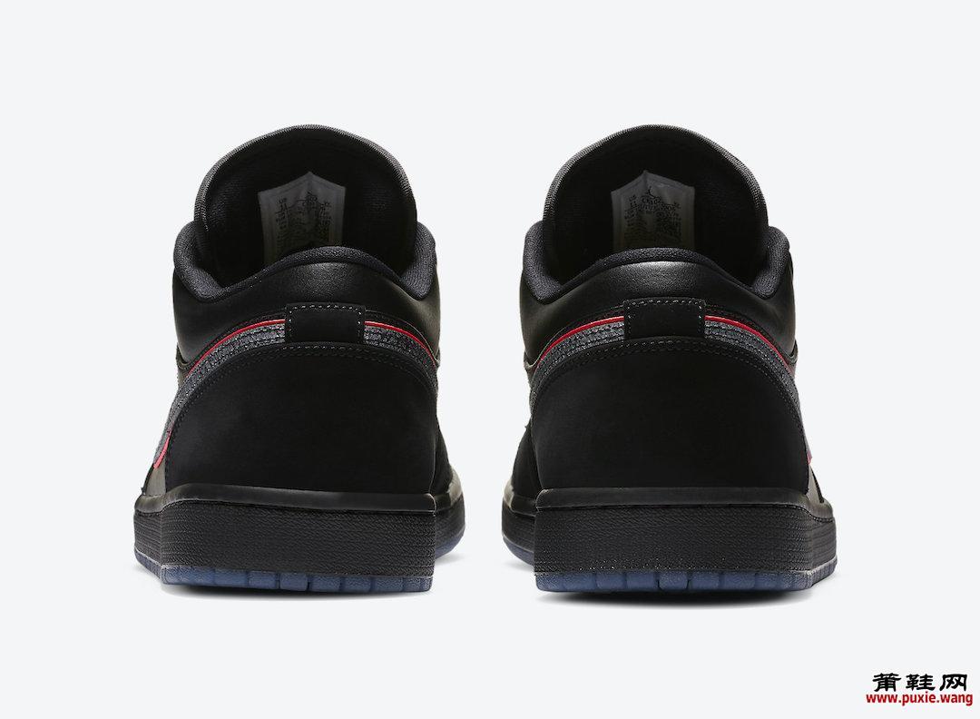 Air Jordan 1 Low Black Red Orbit CK3022-006发售日期