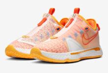 """佳得乐耐克Gatorade x Nike PG 4 """"Orange GX'""""发售 货号:CD5078-101"""