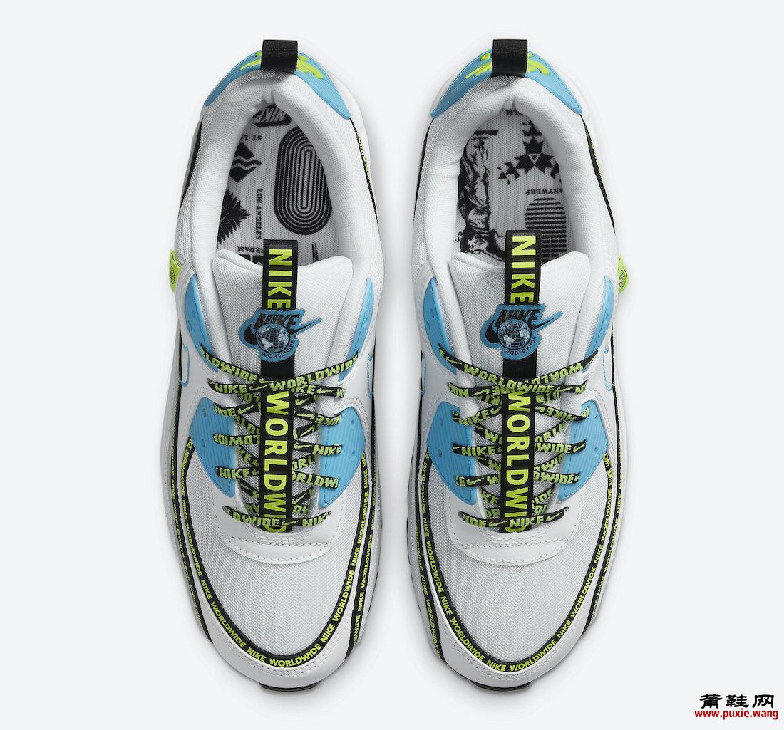 Nike Air Max 90 SE Worldwide CZ6419-100发售日期信息