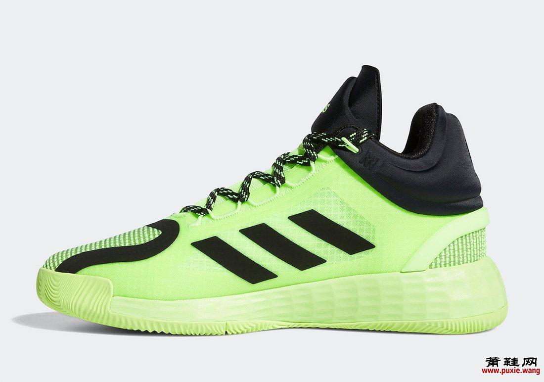 adidas D Rose 11 Signal Green FU7405发售日期