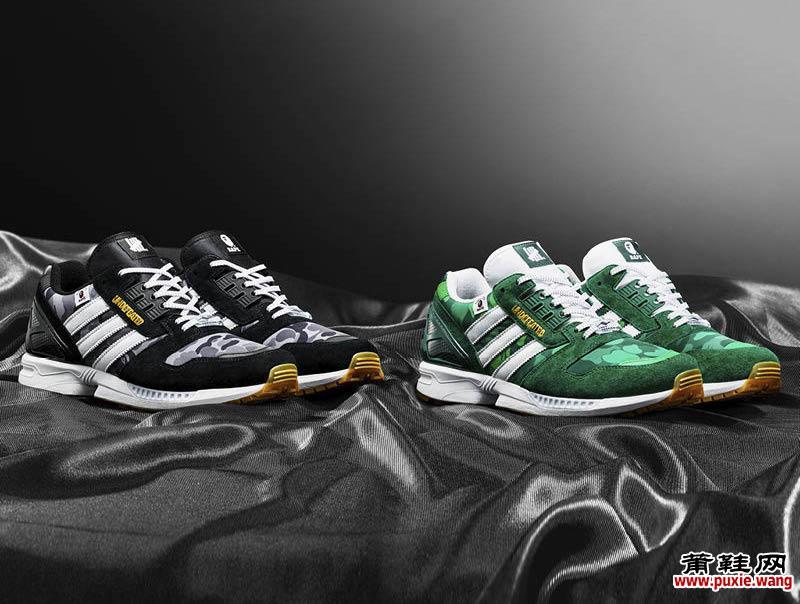 Bape x Undefeated x adidas ZX 8000莆田鞋网抢先发售详细信息 货号:FY8852