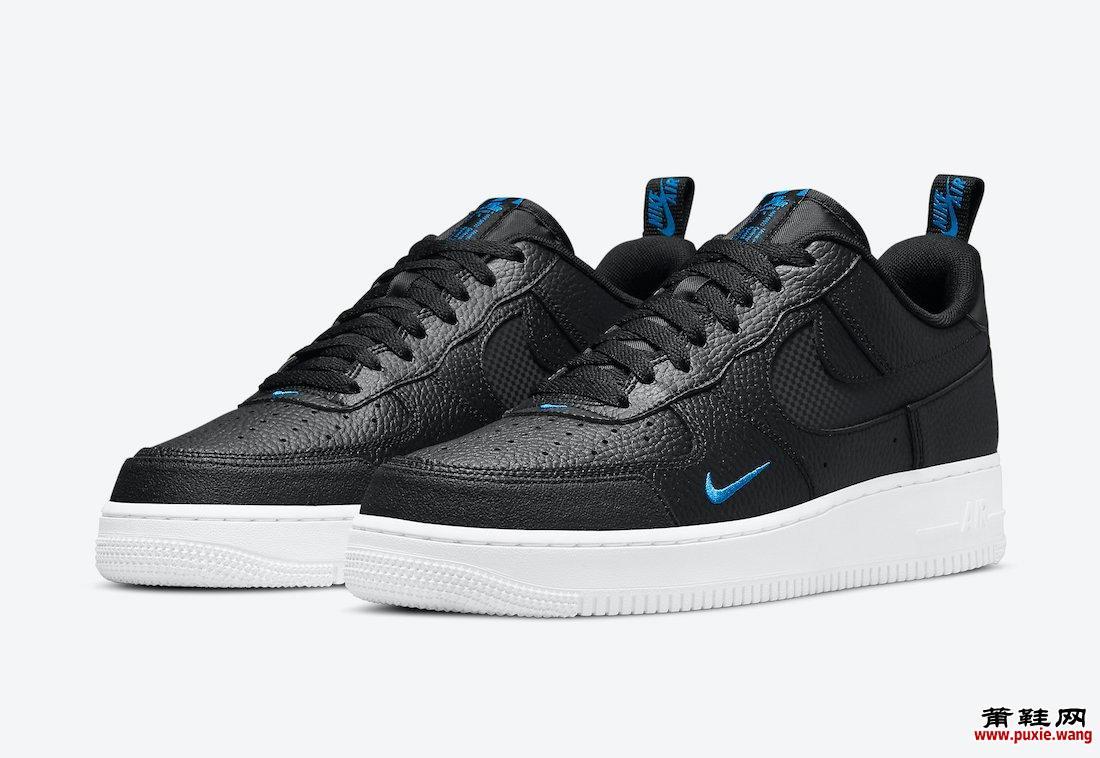 Nike Air Force 1 Low 黑色和蓝色已经发布 值得期待 货号:DN4433-002
